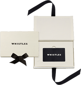 whistles official gift card store